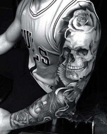 tatuajes del dia de los muertos significado