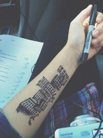 como hacerse un tatuaje temporal en casa facil