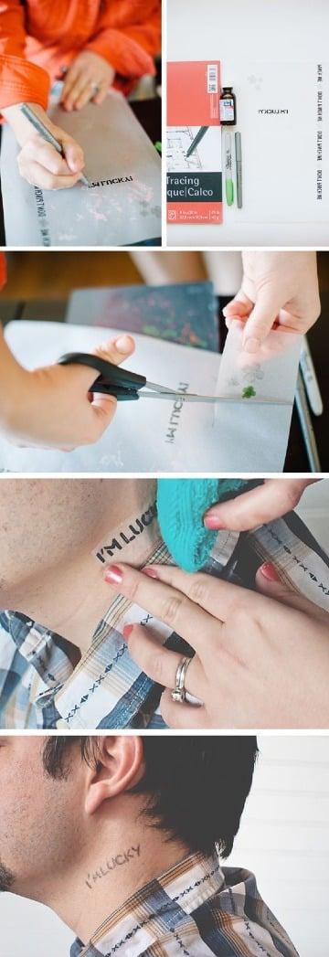 como hacerse un tatuaje temporal en casa paso a paso