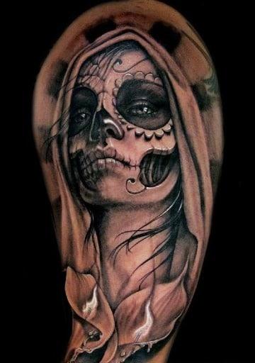 diseños de tatuajes de catrinas chidas