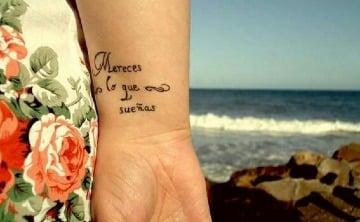 frases de canciones para tatuajes en español