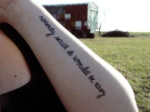 imagenes de frases de canciones para tatuajes