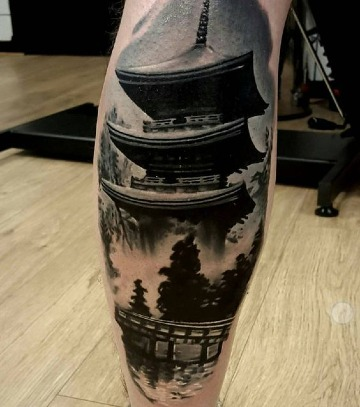 imagenes de tatuajes de casas chinas
