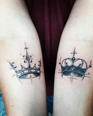 significado de tatuajes de corona para parejas