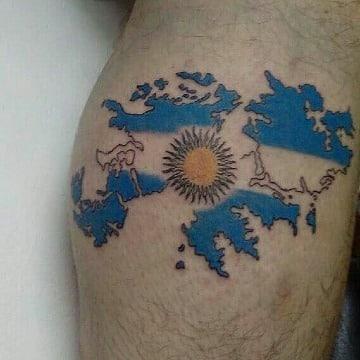 imagenes de tatuajes de argentina para hombres