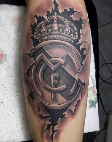imagenes de tatuajes de escudos de futbol