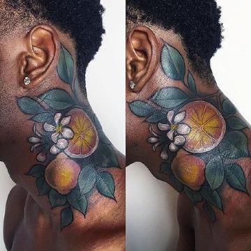 tatuajes para piel negra hombre