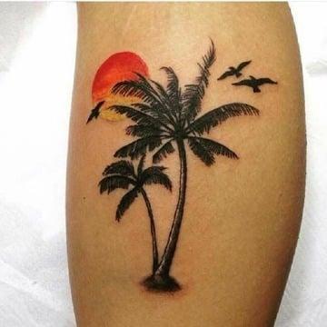 diseños de tatuajes de palmeras significado