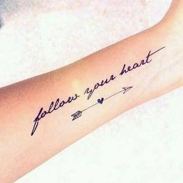 frases cortas en ingles para tatuajes en el antebrazo