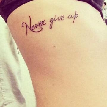frases cortas en ingles para tatuajes en el costado