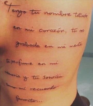 imaganes de frases largas para tatuajes