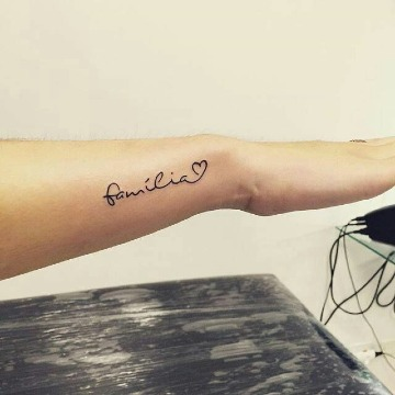 tatuajes de la familia para mujeres
