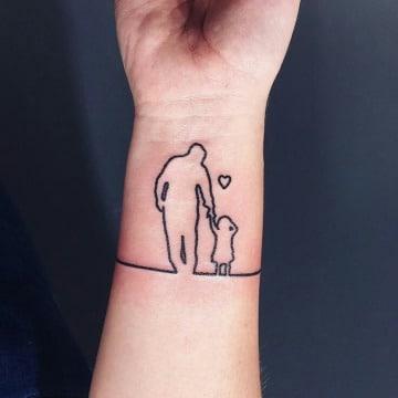 tatuajes que representen el amor padre e hija