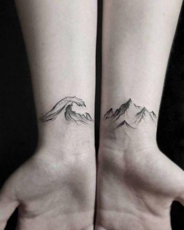 creativos tatuajes en la muñeca para hombres