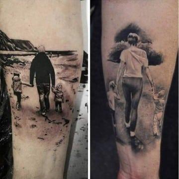 reales tatuajes con significado de familia