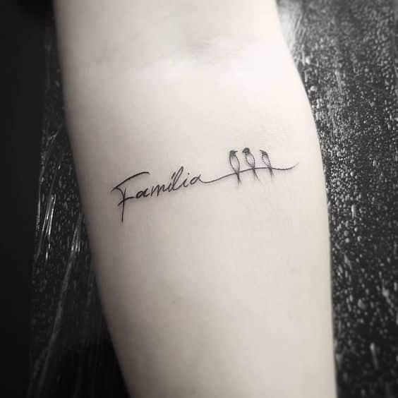 tatuajes con significado de familia de 3