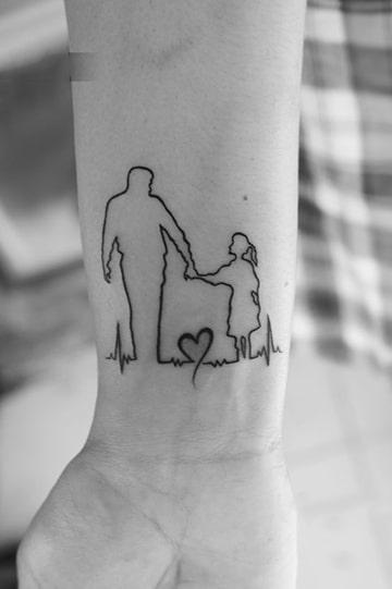 tatuajes con significado de familia unida