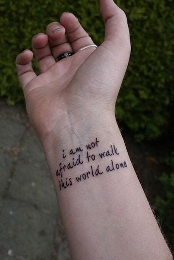 5 Posibles Frases Para Tatuajes De Mujer En El Brazo