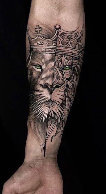 imagenes de tatuajes de hombres en el brazo