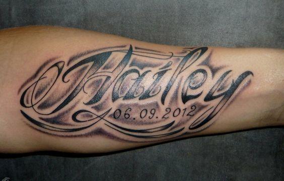 los mejores tatuajes en el antebrazo nombres