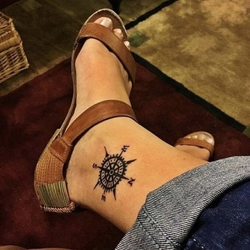 los mejores tatuajes en el tobillo para mujer