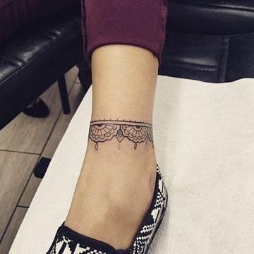 tatuajes en el tobillo para mujer bonitos