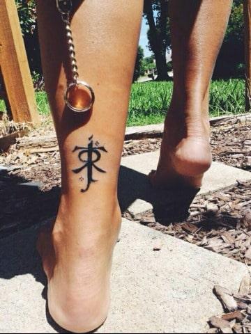 diseños de tatuajes del señor de los anillos