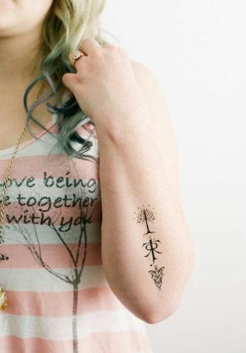 fotos de tatuajes del señor de los anillos