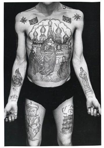 fotos de tatuajes de la mafia rusa