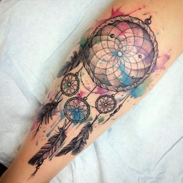 imagenes de tatuajes atrapasueños para hombres.