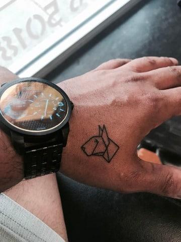 tatuajes de bull terrier para hombres