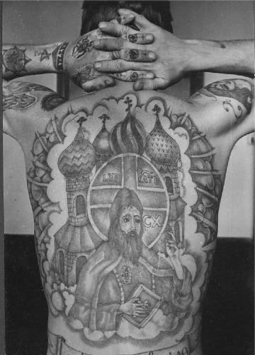 tatuajes de la mafia rusa hombre