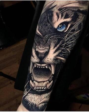 fotos de tatuajes de tigres en 3d