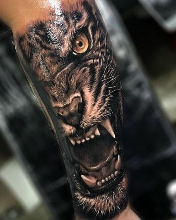 imagenes de tatuajes de tigres en 3d