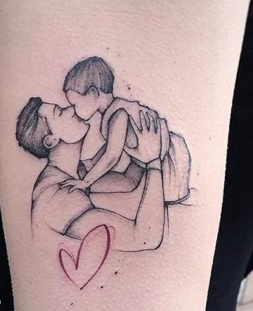 diseños de tatuajes dedicados a papa