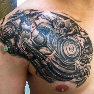 imagenes de tatuajes de motores de carros