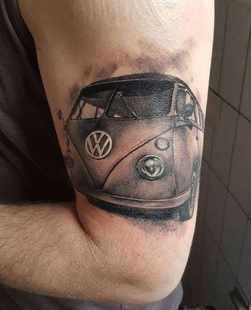 tatuajes de carros clasicos y retros