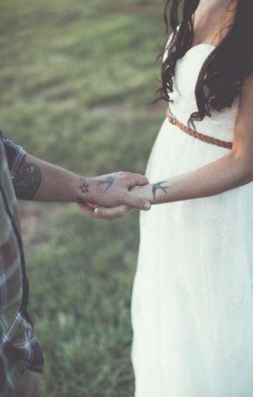 tatuajes de golondrinas para parejas enamoradas