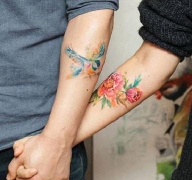 tatuajes de golondrinas para parejas significados