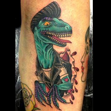 tatuajes de dinosaurios a color tematicas originales