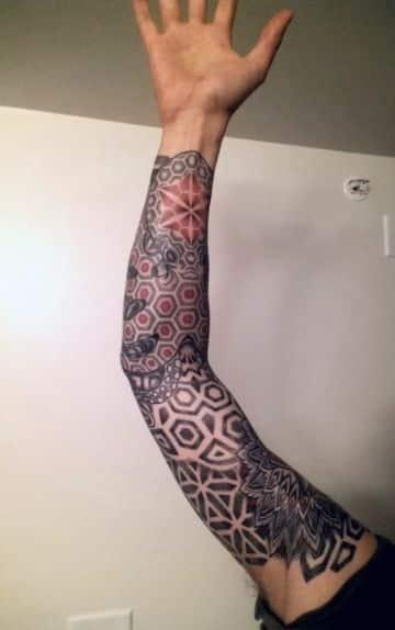 tatuajes mandalas celtas mangas