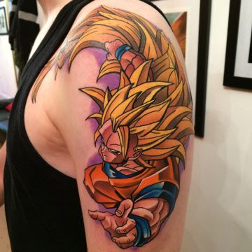 tatuajes de dragon ball z fase 3