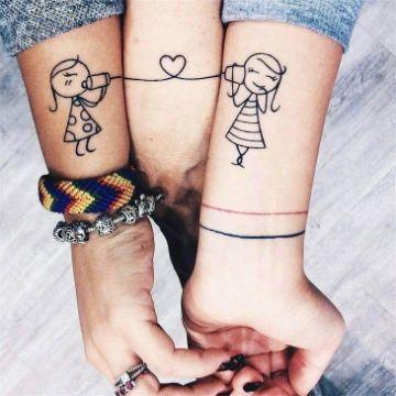 tatuajes de mejores amigas 3 integrantes