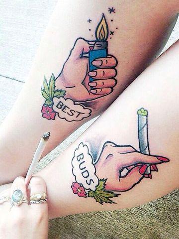 tatuajes de mejores amigas originales