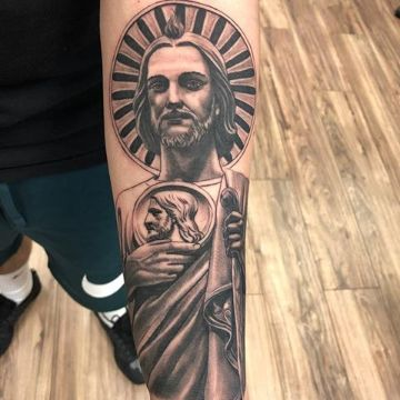tatuajes de san judas tadeo textuiras