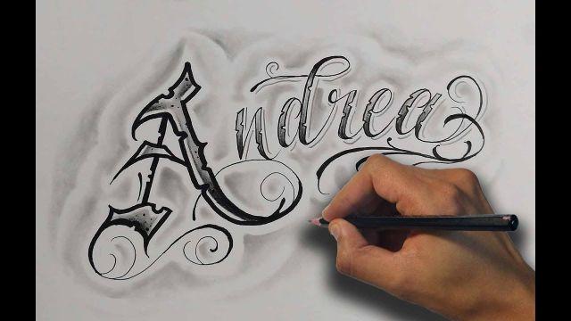 letras cholas para tatuajes plantilla