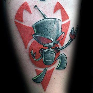 tatuajes de dibujos para hombres nueva escuela