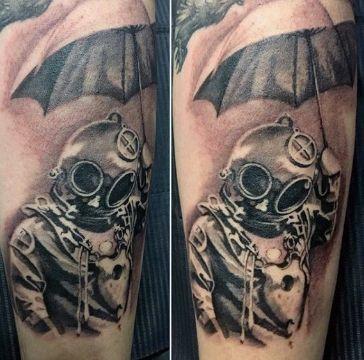 tatuajes de buzos tacticos concepto creativo