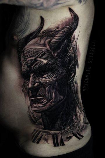 tatuajes demoniacos oscuros texturas