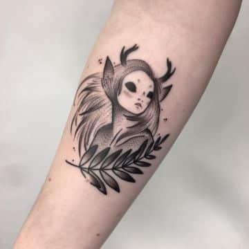 tatuajes de duendes y elfos originales